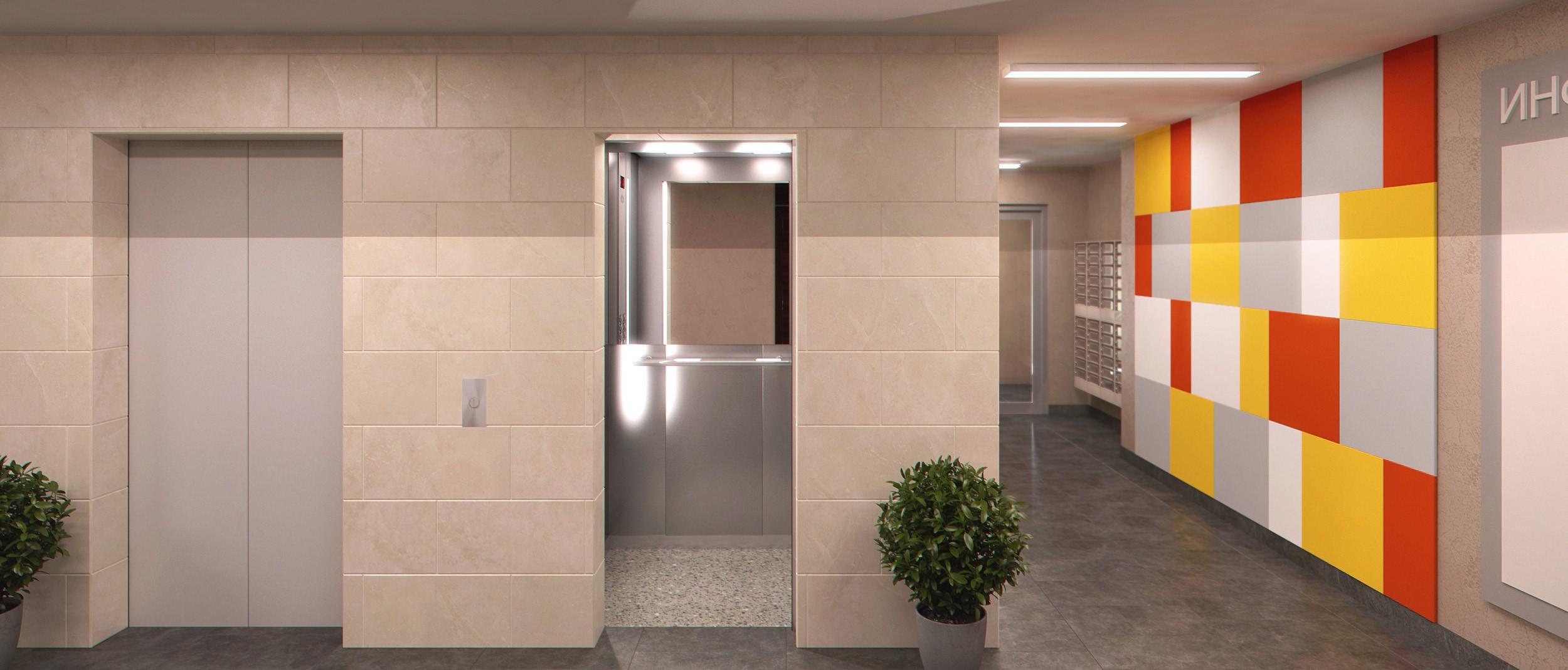 реклама в лифтах жилых домов