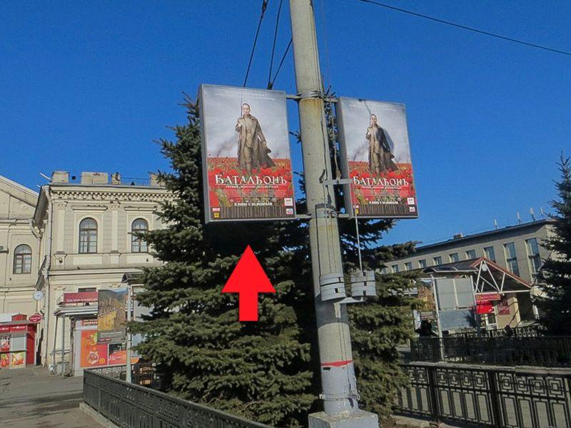 реклама на платформах балтийского вокзала