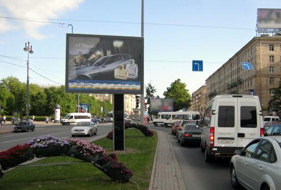 реклама на сити-бордах
